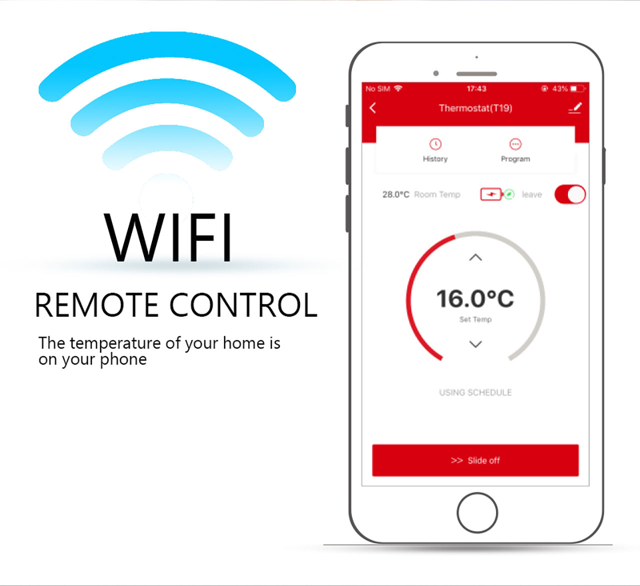 2 channel smart thermostat