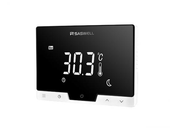 2-Channel Thermostat,2 channel programmable room thermostat,2 channel smart thermostat
